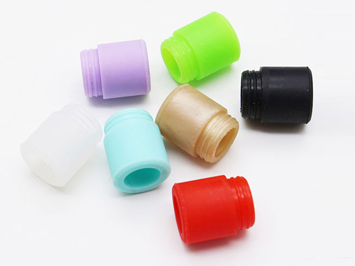 Custom Wide Bore Silicone Drip Tips For TFV8